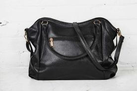 Black Over Shoulder Tote